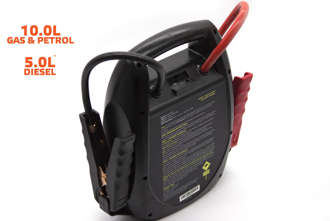 OzCharge RM1000 Super Capacitor Jump Starter