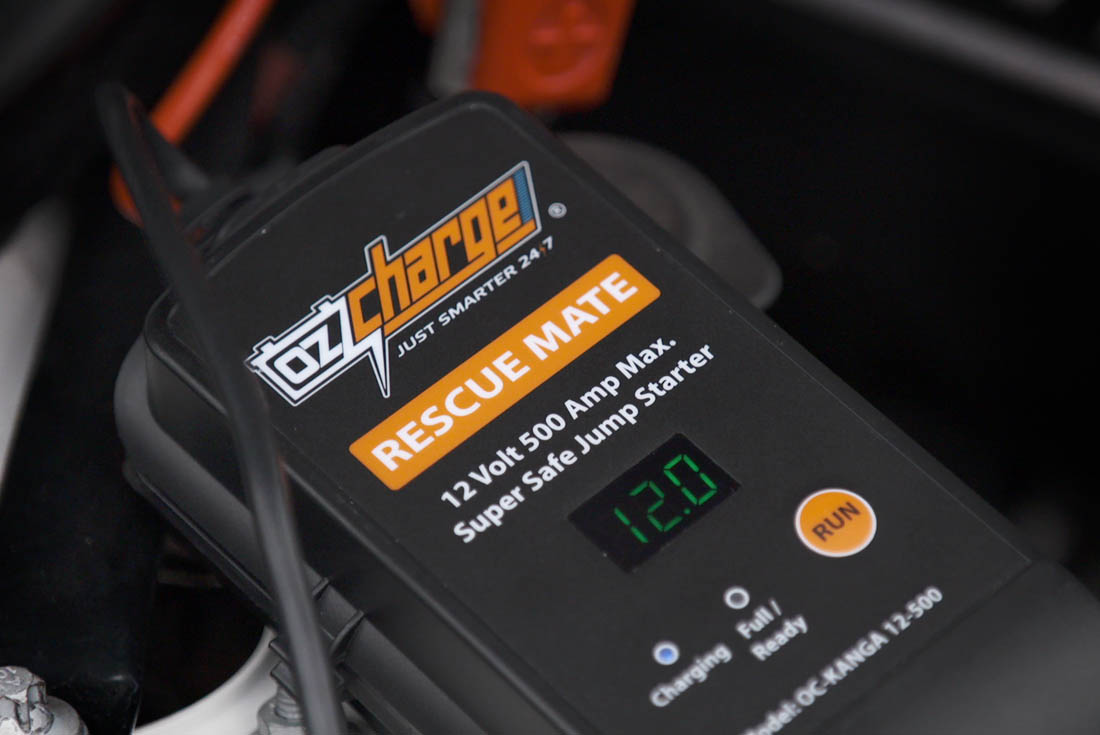 OzCharge RM500 Super Capacitor Jump Starter Lifestyle